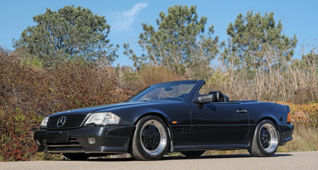 1991 Mercedes Benz 500SL AMG 6.0 = Correct 21k miles $79.5k For Sale (picture 1 of 6)