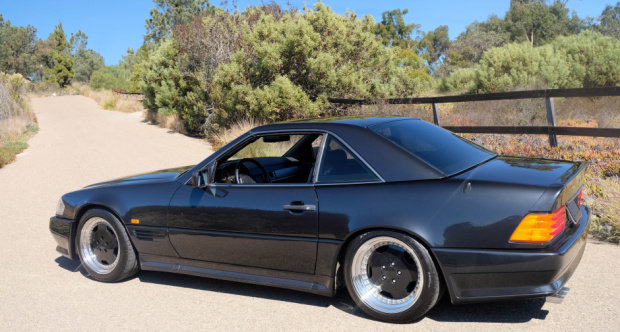 1991 Mercedes Benz 500SL AMG 6.0 = Correct 21k miles $79.5k For Sale (picture 2 of 6)