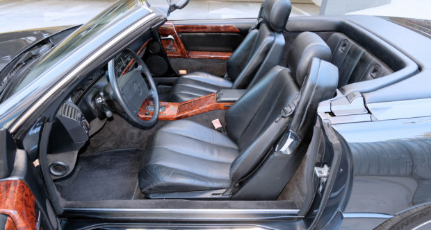 1991 Mercedes Benz 500SL AMG 6.0 = Correct 21k miles $79.5k For Sale (picture 4 of 6)