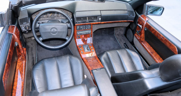 1991 Mercedes Benz 500SL AMG 6.0 = Correct 21k miles $79.5k For Sale (picture 5 of 6)