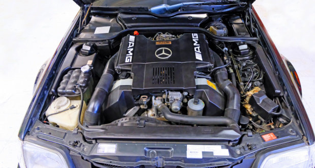 1991 Mercedes Benz 500SL AMG 6.0 = Correct 21k miles $79.5k For Sale (picture 6 of 6)