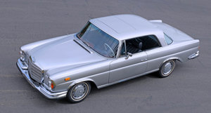 1970 Mercedes Benz 280SE 3.5 Coupé = Silver  $108.5k