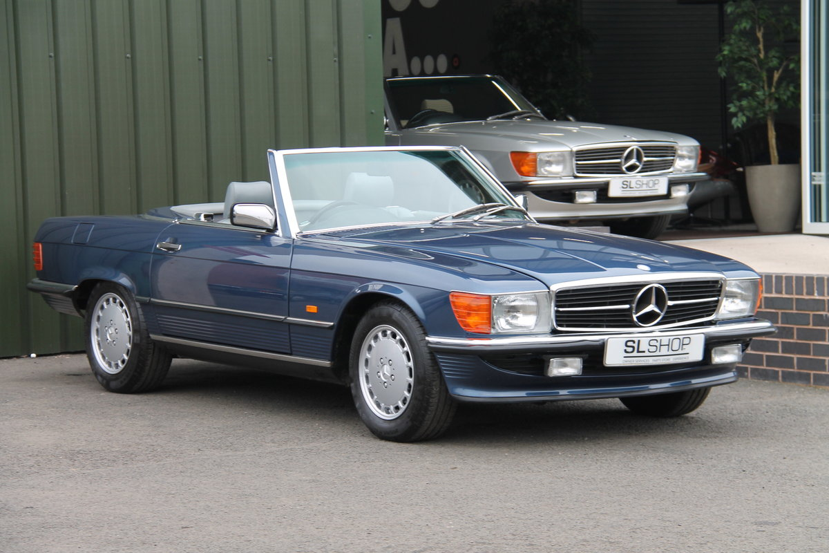 1988 Mercedes-Benz 300SL (R107) 25,000 Miles #2087 For Sale (picture 1 of 6)