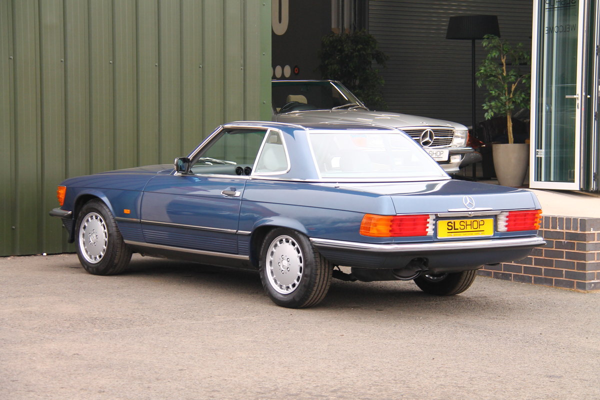 1988 Mercedes-Benz 300SL (R107) 25,000 Miles #2087 For Sale (picture 6 of 6)