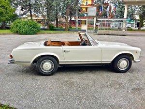 1967 MERCEDES SL 250 W 113 PAGODA CALIFORNIA RESTORED For Sale