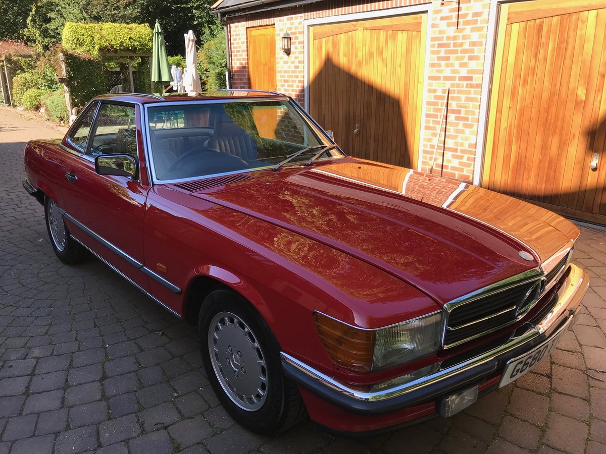 1989 Mercedes 420 sl For Sale (picture 1 of 6)