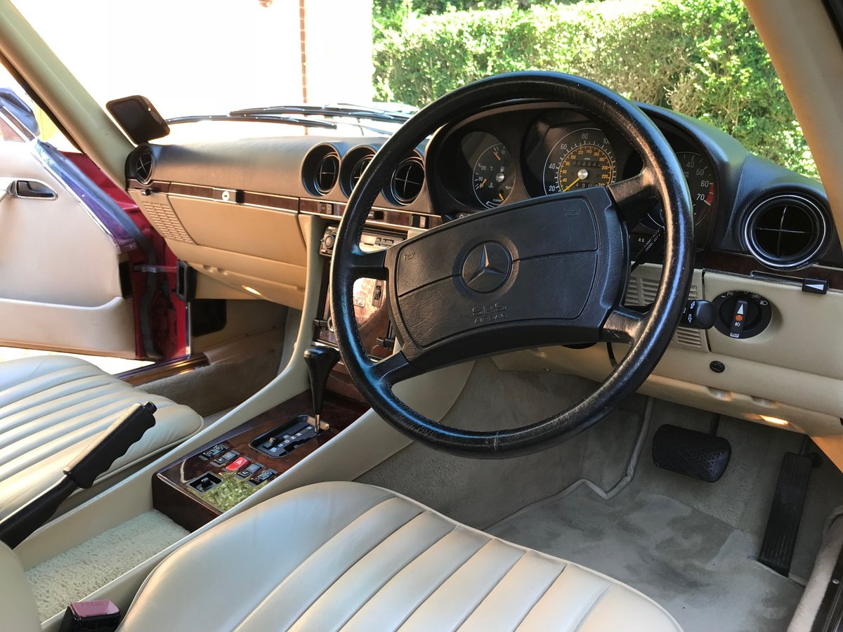 1989 Mercedes 420 sl For Sale (picture 4 of 6)