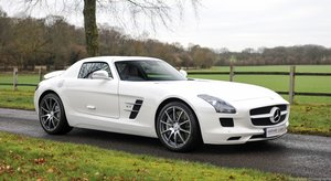 2010 Mercedes SLS AMG with only 2659 Miles