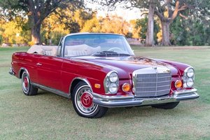 1971 Mercedes-Benz 280SE 3.5 Cabriolet = FloorShift $305k For Sale