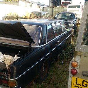 mercedes 220 1971 limousine For Sale