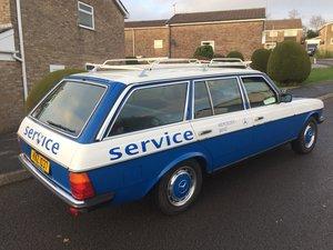 1983 MERCEDES 230TE w123/s123 station wagon estate car
