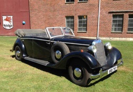 1937 Indiana Jones Mercedes-Benz 320 Staff Movie Car $275k For Sale (picture 4 of 6)