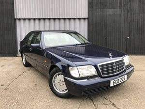 1996 Mercedes-Benz S280 W140 42,152 miles **stunning** SOLD