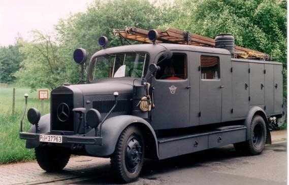 1943 Mercedes L1500S ex German Army truck SOLD | Car And Classic