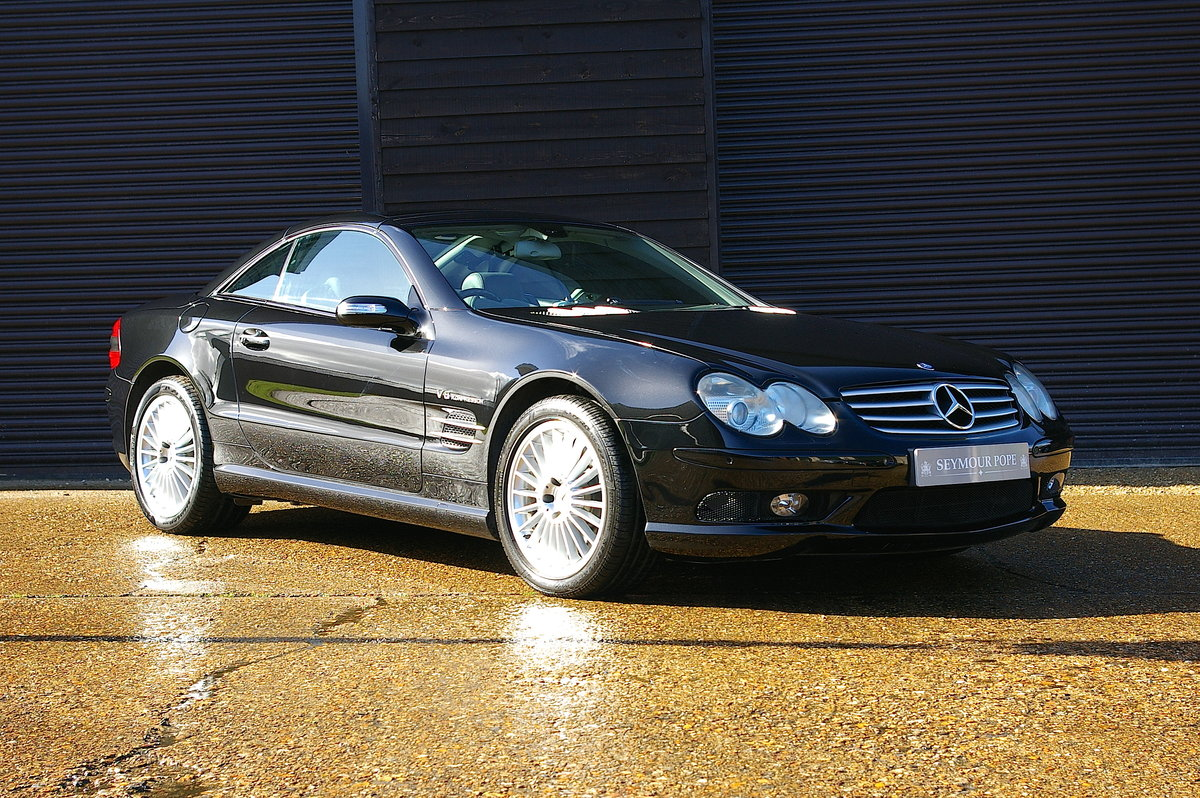2005 Mercedes SL55 AMG 5.5 V8 Convertible Auto (45,502 miles) SOLD (picture 1 of 6)
