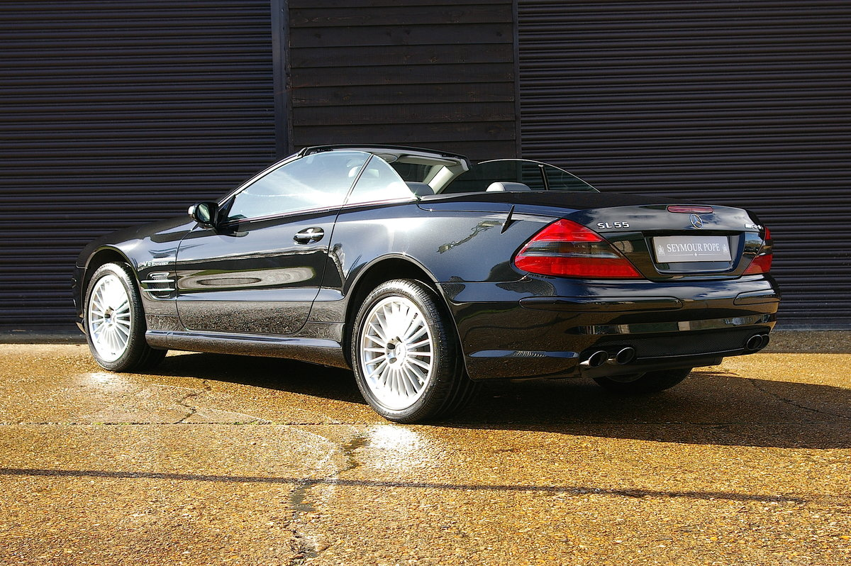 2005 Mercedes SL55 AMG 5.5 V8 Convertible Auto (45,502 miles) SOLD (picture 3 of 6)