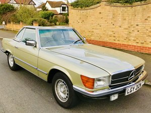 1980 Mercedes 380sl - immaculate, low mileage, FSH