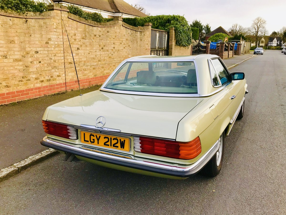 1980 Mercedes 380sl - immaculate condition, low mileage For Sale (picture 2 of 6)