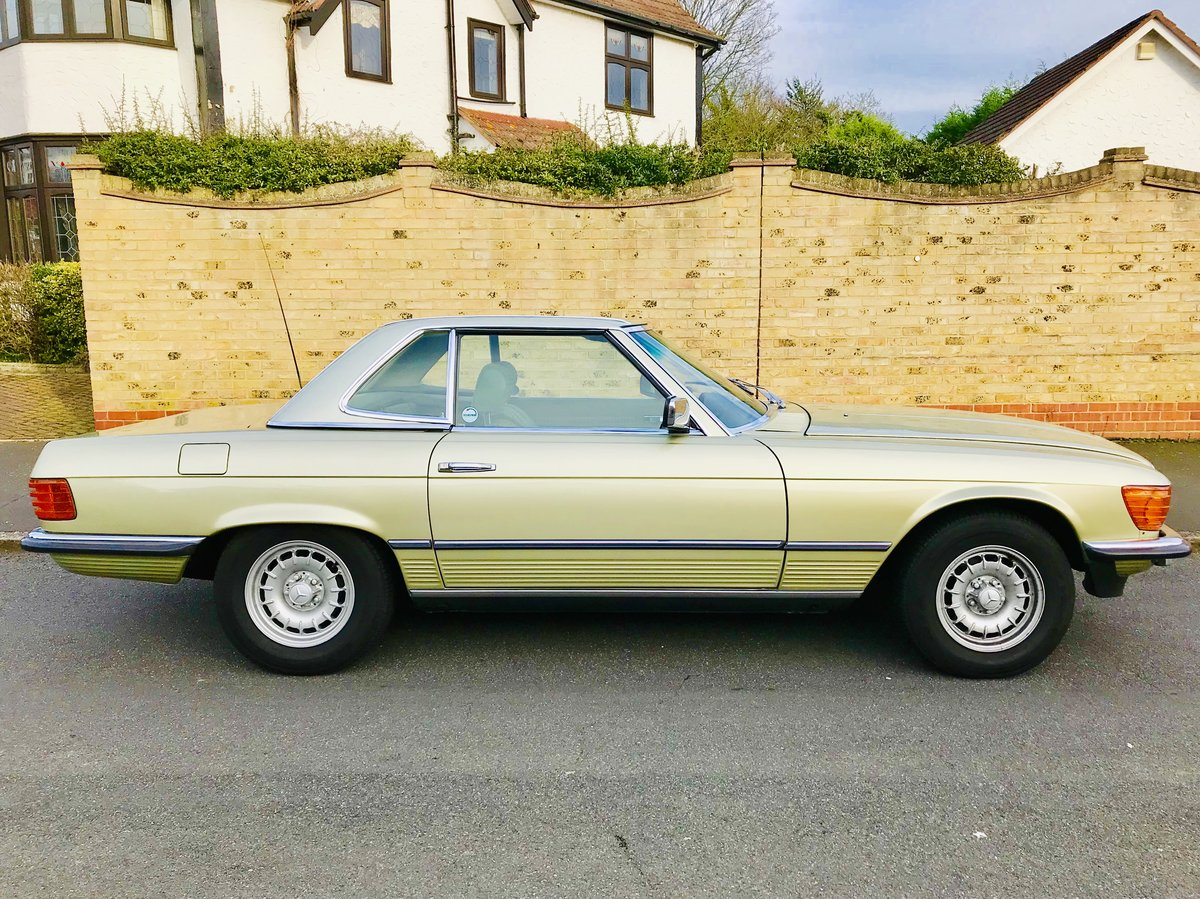 1980 Mercedes 380sl - immaculate condition, low mileage For Sale (picture 3 of 6)