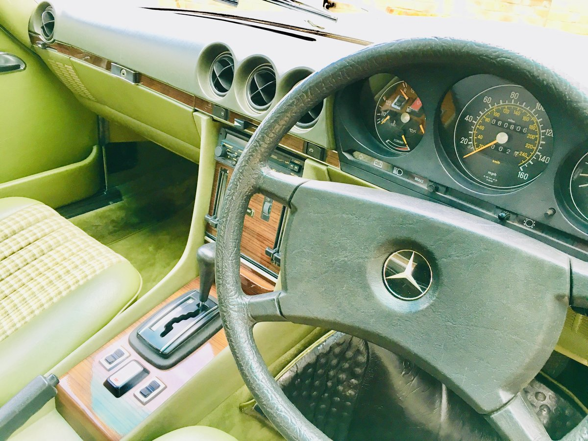 1980 Mercedes 380sl - immaculate condition, low mileage For Sale (picture 4 of 6)
