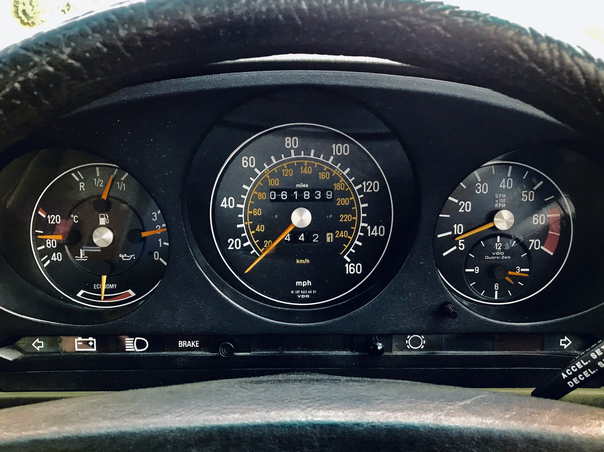 1980 Mercedes 380sl - immaculate condition, low mileage For Sale (picture 6 of 6)