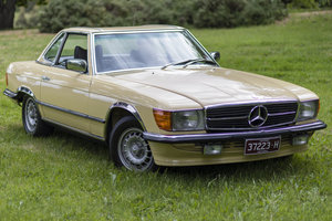 1976 Mercedes-Benz R107 350SL RHD For Sale