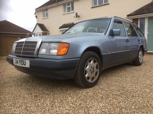 1992 Mercedes 230TE estate (Low mileage) For Sale