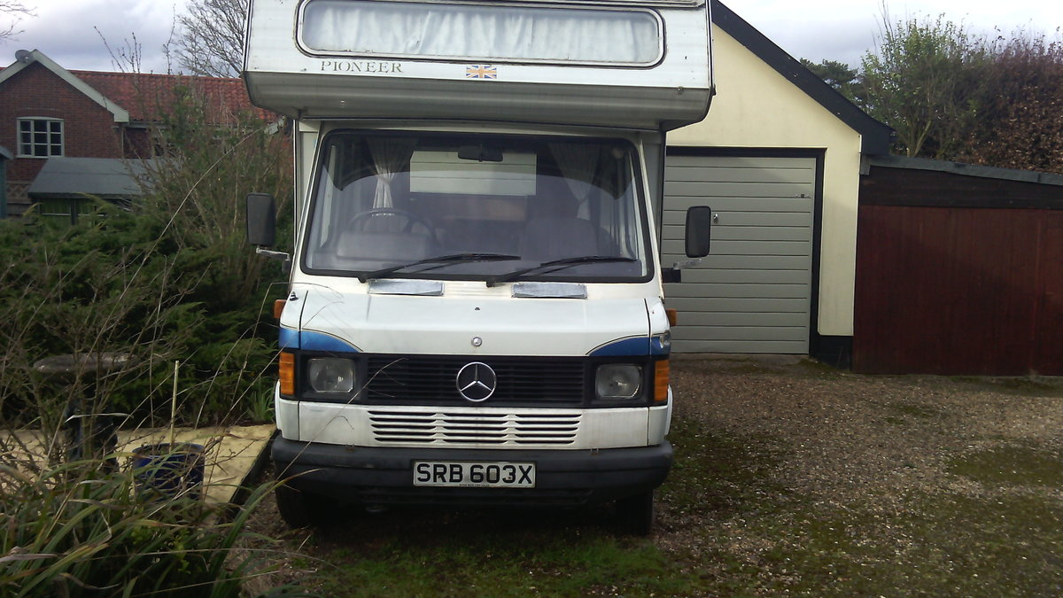 1982 Classic Mercedes Motorhome / Campervan For Sale (picture 6 of 6)