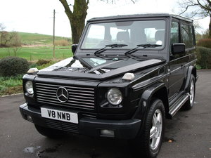 NOW AVAILABLE! Original Unspoilt Mercedes-Benz G500 SWB RHD For Sale