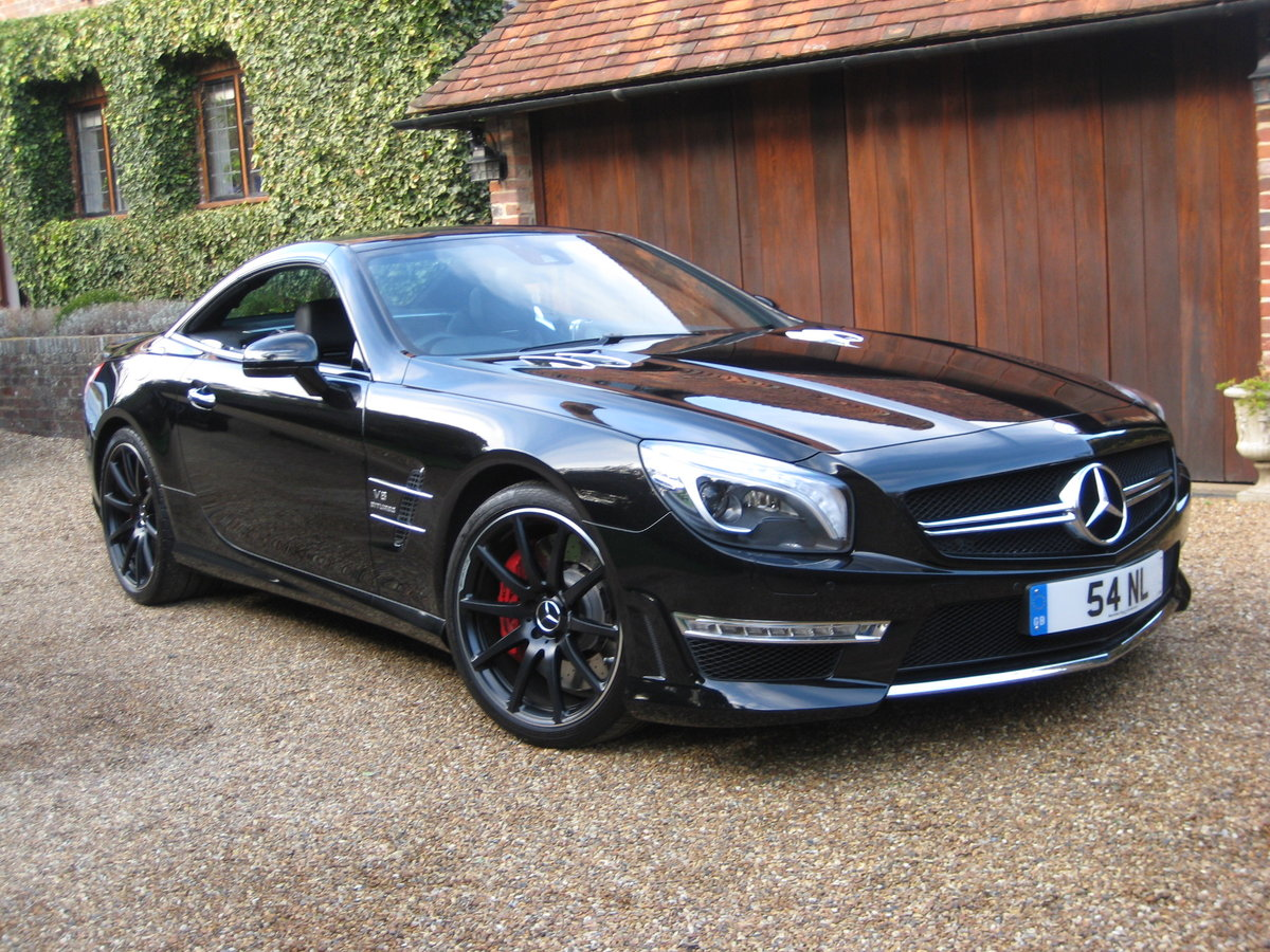 2012 Mercedes Benz SL63 AMG With Over £12k Of Optional Extras For Sale (picture 1 of 6)