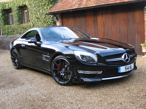 2012 Mercedes Benz SL63 AMG With Over £12k Of Optional Extras