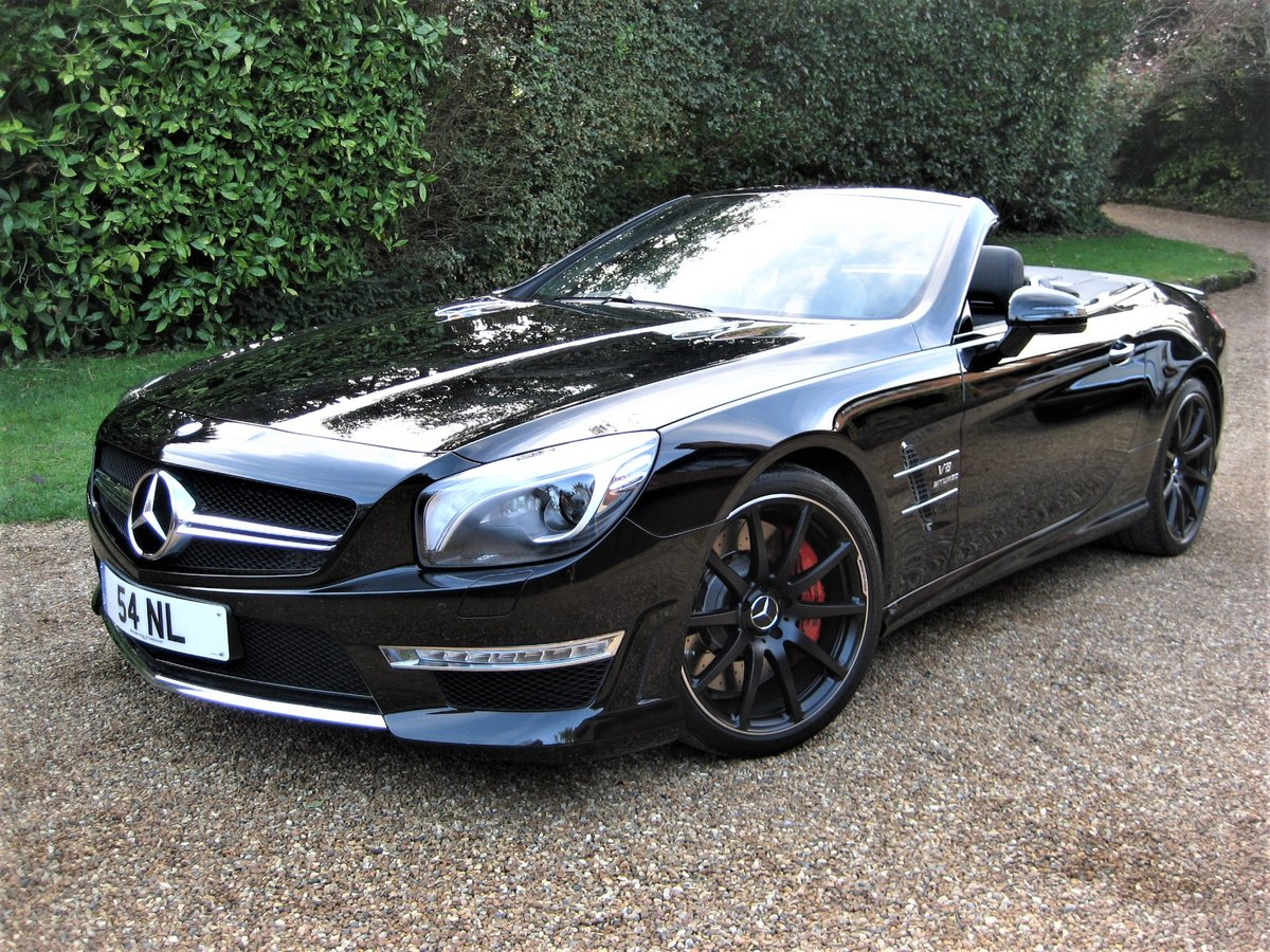 2012 Mercedes Benz SL63 AMG With Over £12k Of Optional Extras For Sale (picture 2 of 6)