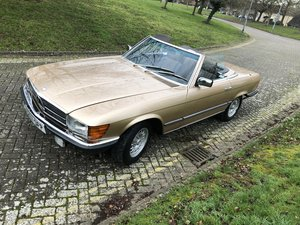 1985 mercedes 380sl low miles with full history For Sale
