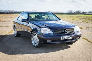 1997 Mercedes-Benz W140 CL420 - 6,744 Miles From New SOLD