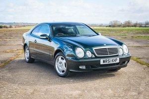 2001 Mercedes-Benz CLK320 - 1 Owner - 15,301 Miles - FMBSH SOLD