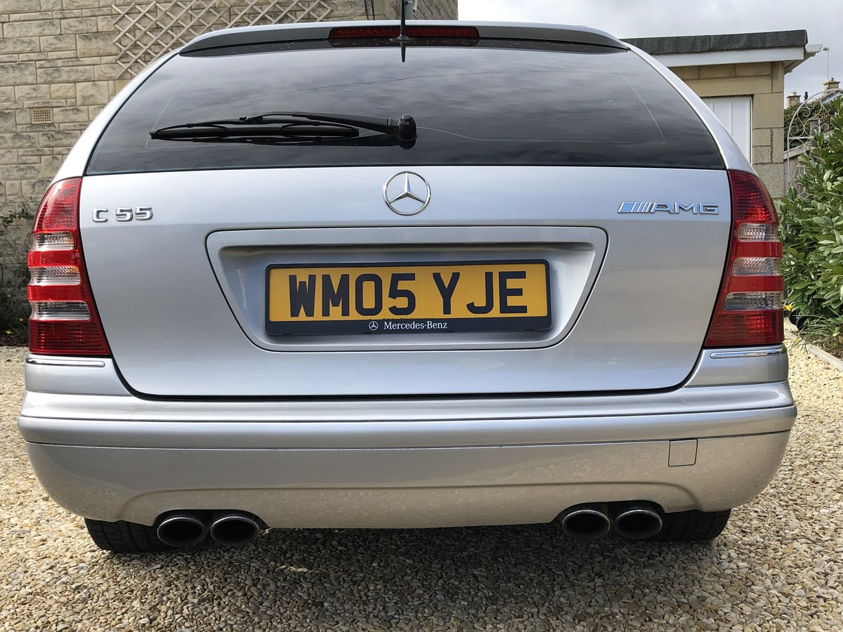 2005 Mercedes C55 AMG Estate Immaculate and rust free For Sale (picture 2 of 6)
