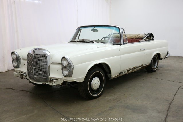 1967 Mercedes-Benz 250SE Cabriolet For Sale (picture 3 of 6)