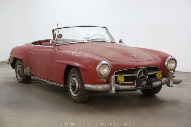 1956 Mercedes-Benz 190SL For Sale (picture 1 of 6)