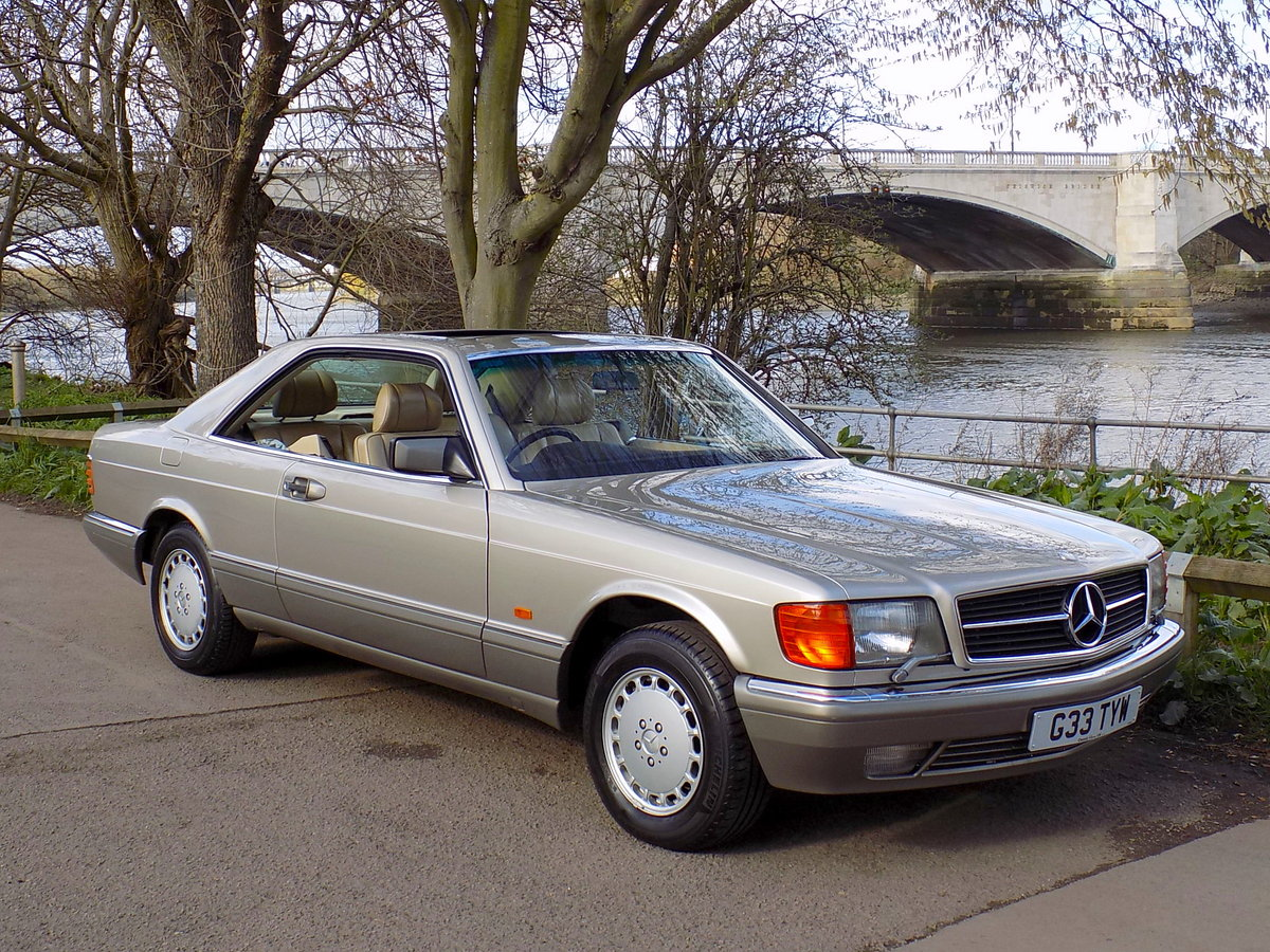 1989 MERCEDES BENZ 500 SEC For Sale (picture 1 of 6)