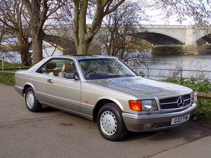 1989 MERCEDES BENZ 500 SEC For Sale