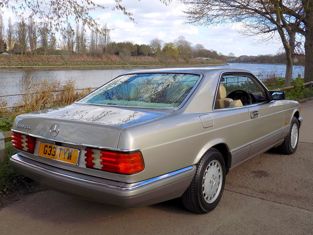1989 MERCEDES BENZ 500 SEC For Sale (picture 2 of 6)