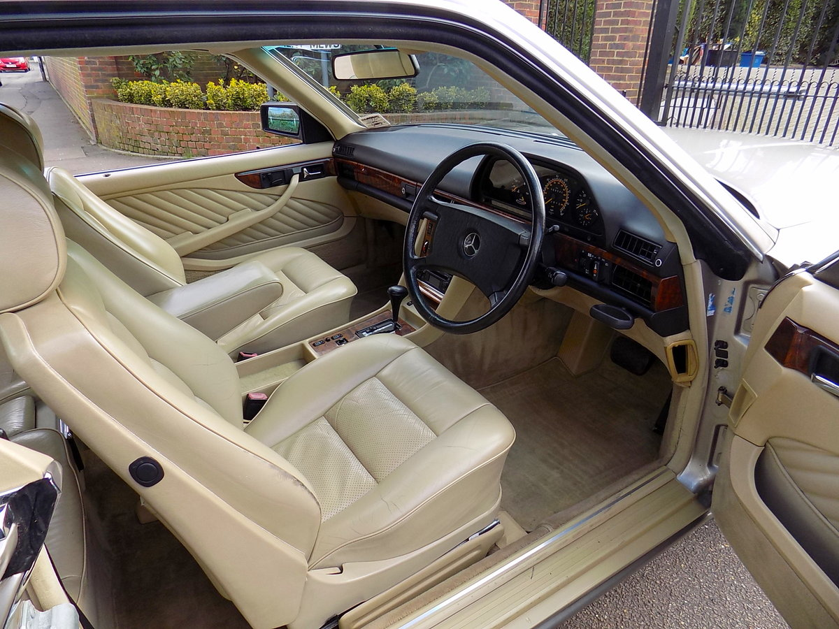 1989 MERCEDES BENZ 500 SEC For Sale (picture 3 of 6)
