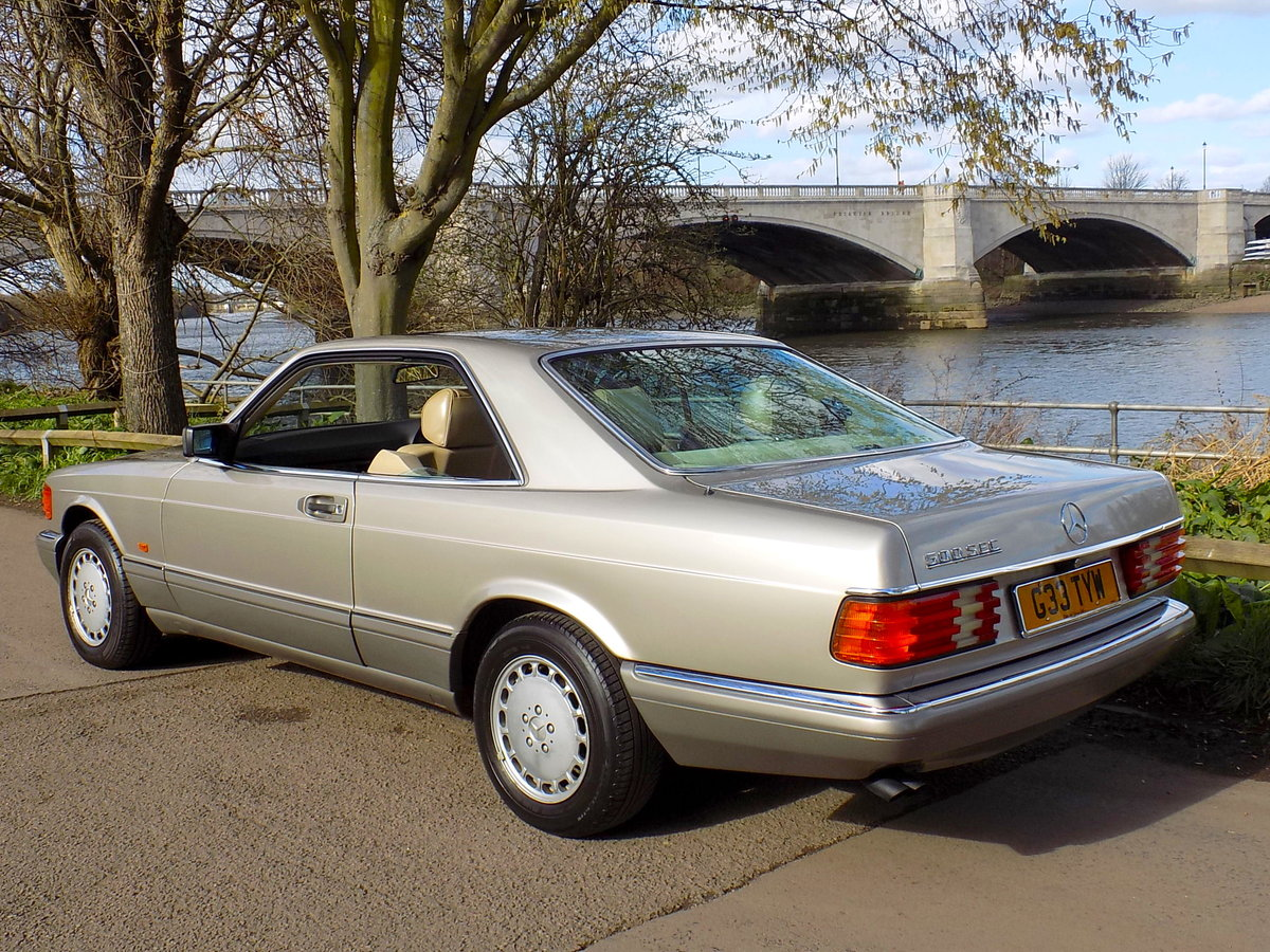 1989 MERCEDES BENZ 500 SEC For Sale (picture 5 of 6)