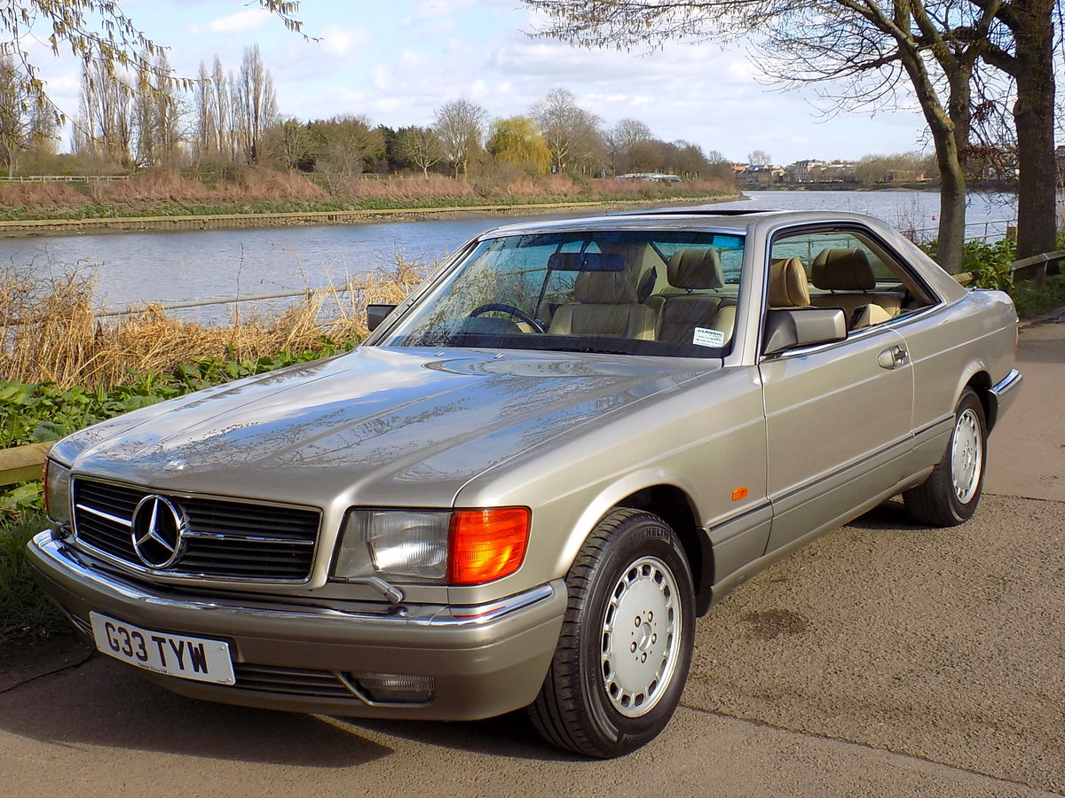 1989 MERCEDES BENZ 500 SEC For Sale (picture 6 of 6)