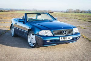 1998 Mercedes-Benz SL500 Special Edition - FSH - Panoramic Roof SOLD