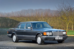 1989 **9,000 MILES FROM NEW** A STUNNING 420SEL - W126**