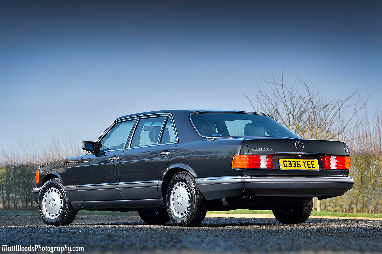1989 **9,000 MILES FROM NEW** A STUNNING 420SEL - W126** For Sale (picture 3 of 6)