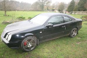 1995 1999 Merc coupe clk 200 black long mot 71000 miles For Sale