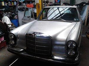 1973 Se280 3.5 V8. Unfinished project For Sale