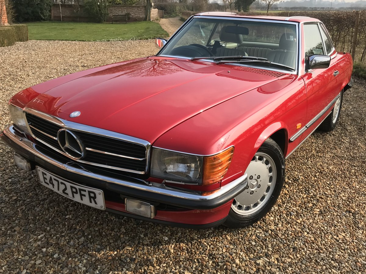 Exceptional 1987 500 SL Mercedes Benz 107 For Sale (picture 1 of 6)